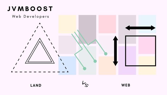 web vs land